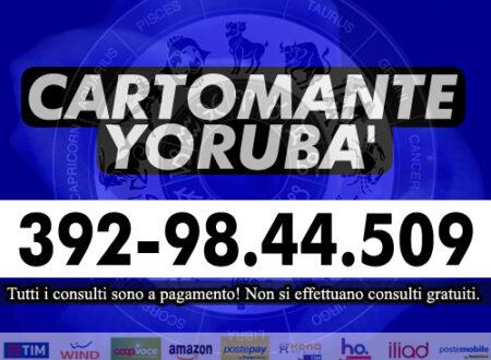 Per chiarire i tuoi dubbi puoi richiedere un consulto di Cartomanzia con una semplice telefonata: il Cartomante Yorubà