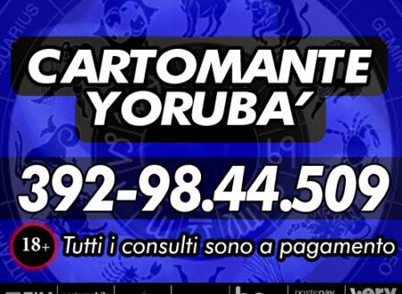 Cartomante Yorubà – I consulti con Yorubà sono tutti a pagamento con offerta libera (ricarica telefonica)