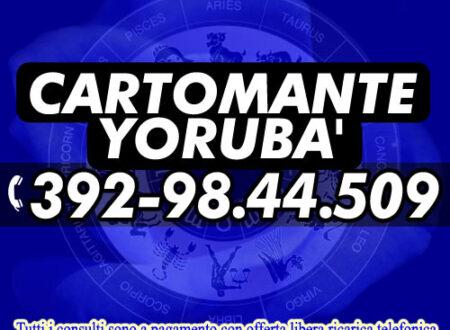 Se cerchi risposte certe contatta il Cartomante Yorubà