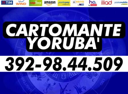 Se necessiti di una risposta immediata per una questione importante…YORUBA' ti risponde