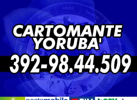Yoruba' svolge consulti telefonici di Cartomanzia tutti i giorni dalle ore 9 alle 21 – Servizio di consulenza esoterica con offerta RICARICA TELEFONICA/POSTEPAY/AMAZON