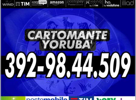 YORUBA' il Cartomante – Consulto completo a bassissimo costo con offerta ricarica telefonica (TIM, ILIAD, POSTEMOBILE, VODAFONE, VERYMOBILE, KENAMOBILE, WIND3, HO.MOBILE, ecc…) o ricarica POSTEPAY/AMAZON.